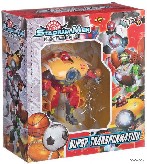 """Робот-трансформер """"Stadium Men. Мяч для регби"""""""