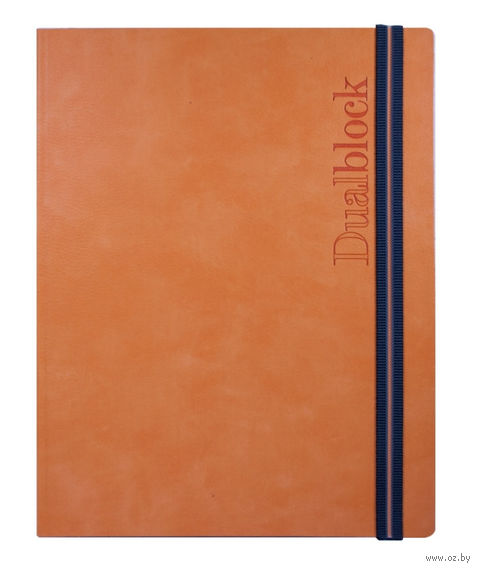 """Ежедневник-еженедельник недатированный """"Avenue Plus"""" (165x235 мм; оранжевый)"""