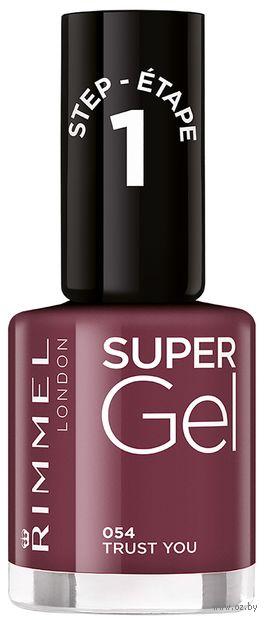 """Гель-лак для ногтей """"Super Gel"""" тон: 54, trust you — фото, картинка"""