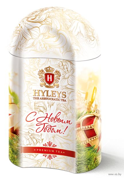 """Чай черный листовой """"Hyleys. Волшебный Новый год"""" (100 г; в банке) — фото, картинка"""