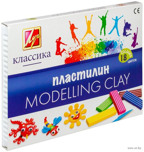 "Пластилин ""Классика"" (18 цветов)"