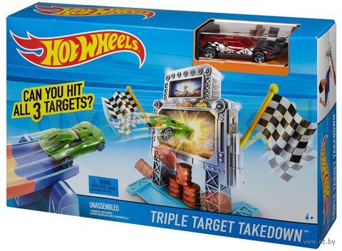 """Игровой набор """"Hot Wheels. Тройной удар"""""""