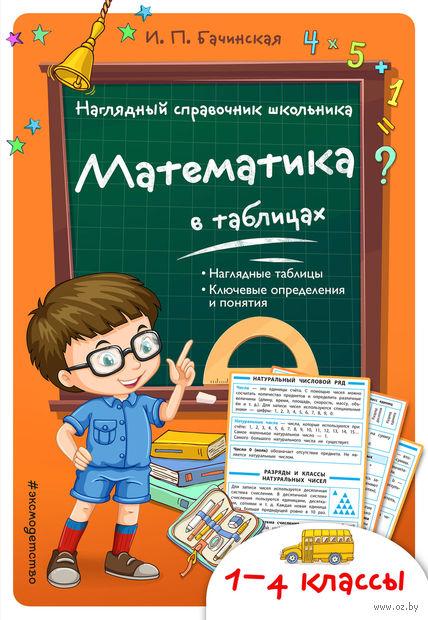 Математика в таблицах — фото, картинка