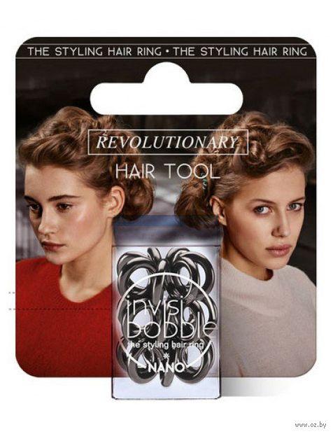 "Резинка для волос ""Nano True Black. С подвесом"" — фото, картинка"