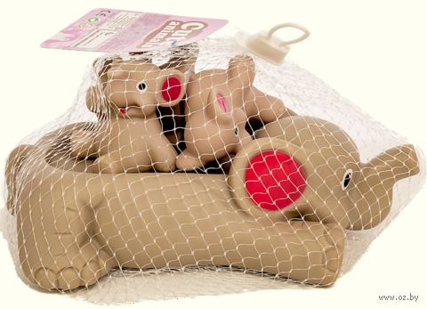 """Набор игрушек для купания """"Слонёнок"""" (арт. 338) — фото, картинка"""