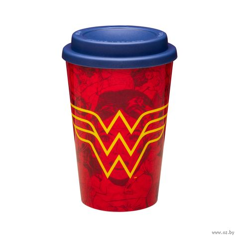 """Эко-стакан """"Wonder Woman"""" — фото, картинка"""