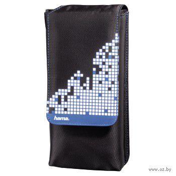 Сумка HAMA Pixel Smash для PS Vita (ACPSV31, черный/синий)
