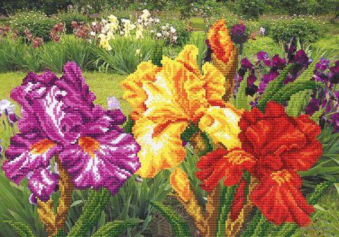 """Вышивка бисером """"Радужный сад"""""""