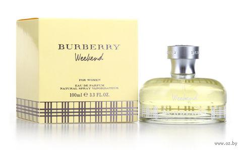 "Парфюмерная вода для женщин Burberry ""Weekend"" (100 мл) — фото, картинка"