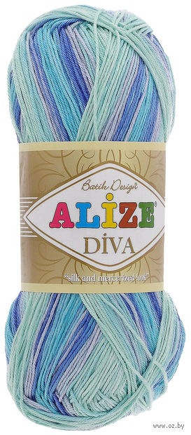 ALIZE. Diva Batik Design №1767 100 г; 350 м) — фото, картинка