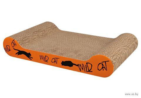 "Когтеточка ""Wild Cat Scratching Cardboard"" (41х7х24 см) — фото, картинка"