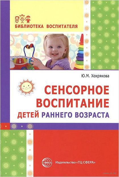 Сенсорное воспитание детей раннего возраста. Юлия Хохрякова