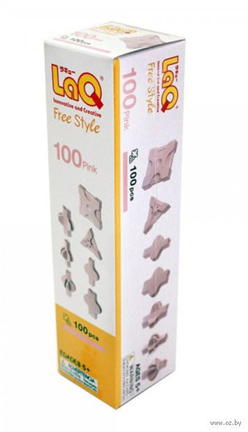 "Конструктор ""LaQ. Free Style 100 Pink"" (100 деталей)"