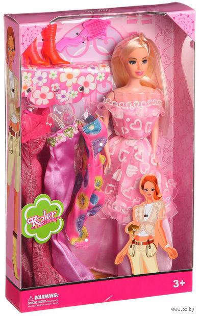 """Кукла """"Koler"""" (с набором одежды; арт. Д44296)"""