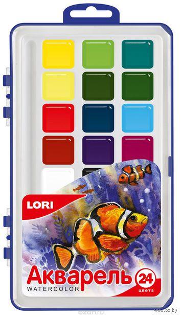 """Акварель """"Рыбка"""" (24 цвета) — фото, картинка"""