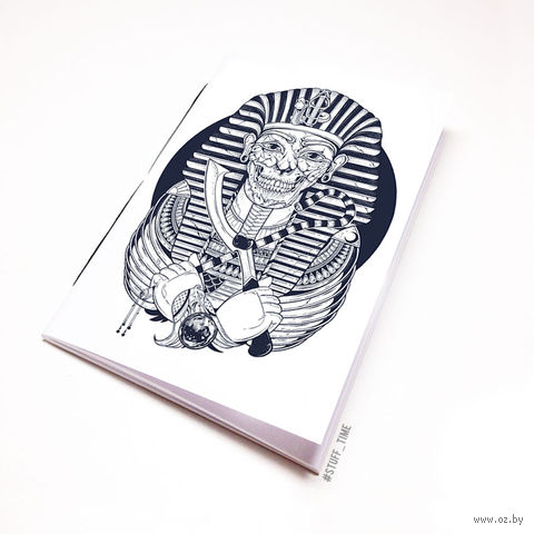 "Блокнот белый ""Мумия Фараона"" А5 (475)"
