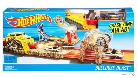 """Игровой набор """"Hot Wheels. Взрыв бульдозера"""" — фото, картинка"""