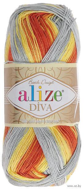 "Пряжа ""ALIZE. Diva Batik Design №5508"" (100 г; 350 м) — фото, картинка"