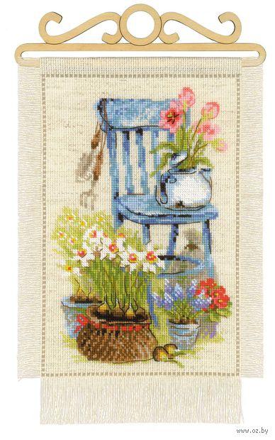 "Вышивка крестом ""Дача. Весна"" (200x300 мм) — фото, картинка"