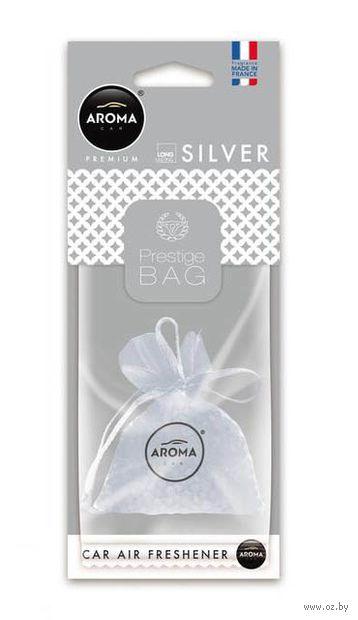 "Ароматизатор подвесной ""Prestige Bag"" (silver) — фото, картинка"