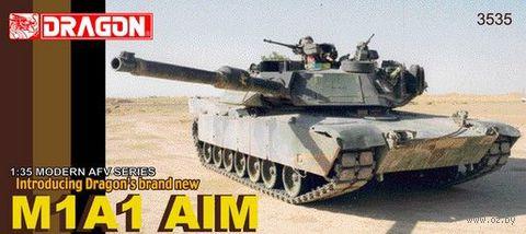 """Боевой танк """"M1A1 AIM"""" (масштаб: 1/35) — фото, картинка"""