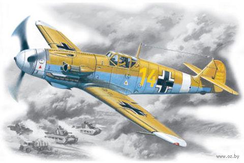 Германский истребитель Bf 109 F-4Z/Trop (масштаб: 1/48) — фото, картинка