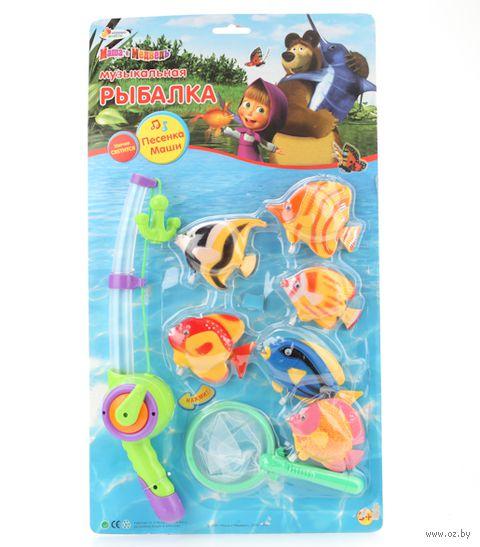 """Игровой набор """"Маша и Медведь. Музыкальная рыбалка"""""""