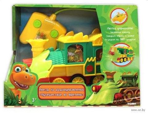 """Игрушка на радиоуправлении """"Поезд динозавров"""" — фото, картинка"""