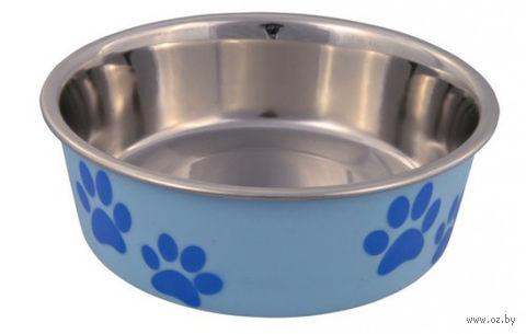 Миска для собак металлическая (0,25 л; арт. 25241)