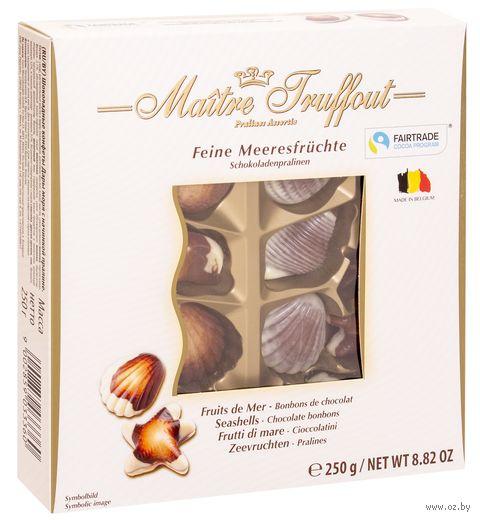 """Конфеты глазированные """"Ассорти. Pralines sea shells"""" (250 г) — фото, картинка"""