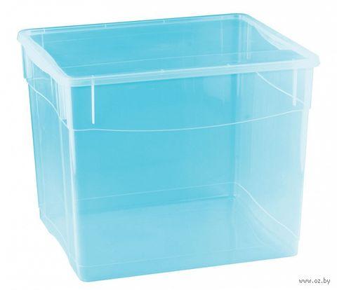 """Ящик для хранения с крышкой """"Колор-стайл"""" (34 л) — фото, картинка"""