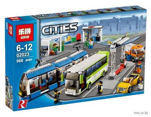 """Конструктор Cities """"Общественный транспорт"""" — фото, картинка"""