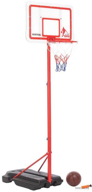 Кольцо баскетбольное на стойке (арт. DE 0366) — фото, картинка