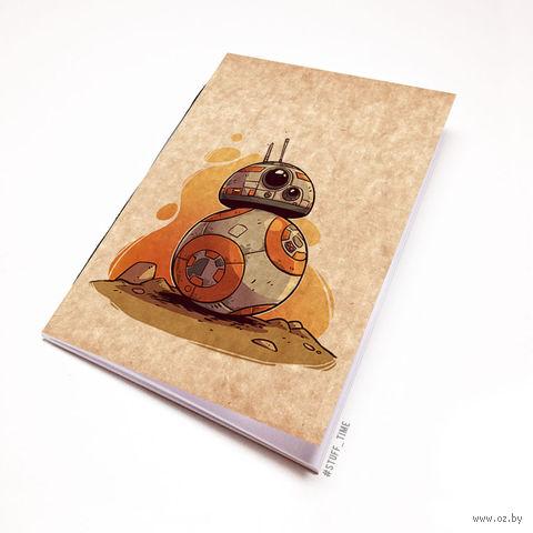 """Блокнот крафт """"Звездные войны"""" (А7; арт. 899) — фото, картинка"""