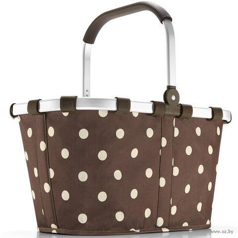 "Корзина ""Carrybag"" (mocha dots)"