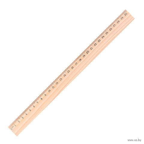 """Линейка деревянная """"Darvish"""" (30 см)"""