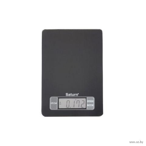Весы кухонные Saturn ST-KS7235 (черные) — фото, картинка