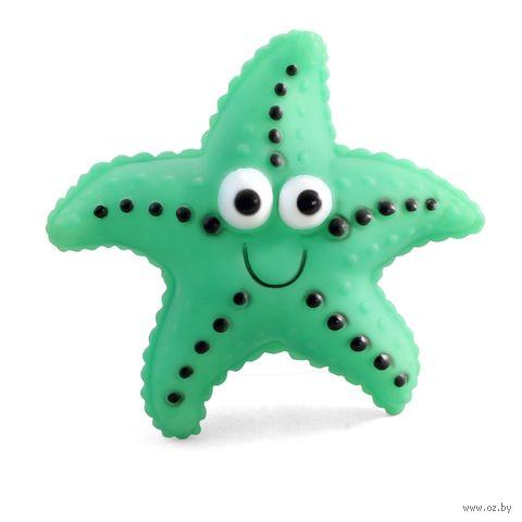 """Игрушка для собак с пищалкой """"Морская звезда"""" (12,5 см) — фото, картинка"""