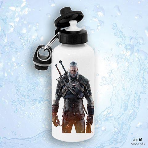 """Бутылка для воды """"Ведьмак"""" (600 мл; арт. 061) — фото, картинка"""