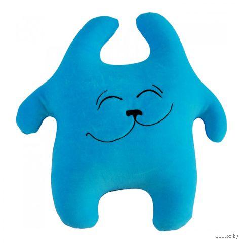 """Игрушка-антистресс """"Хрустик счастливый"""" (45 см; голубой) — фото, картинка"""
