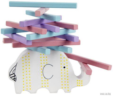 """Деревянная игрушка """"Баланс. Слоник"""" — фото, картинка"""