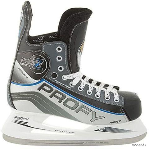 """Коньки хоккейные """"Profy Next Z"""" (р. 39) — фото, картинка"""