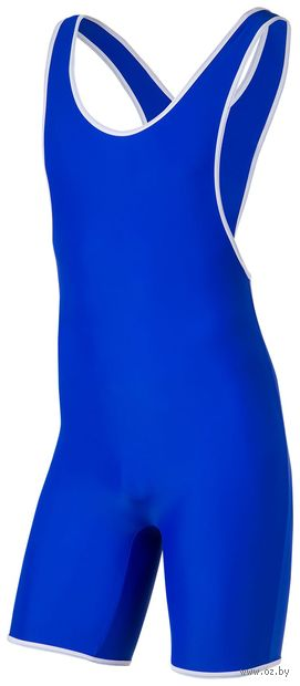 Трико борцовское 9917 (р. 30; синее) — фото, картинка