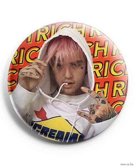 """Значок маленький """"Lil Peep"""" (арт. 026) — фото, картинка"""